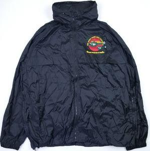 VTG 90's 80's Vietnam Veterans Windbreaker Jacket
